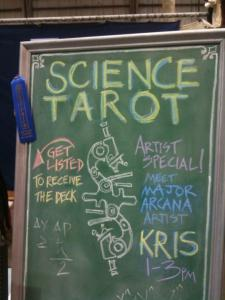 Science Tarot Recognition At Makers Faire